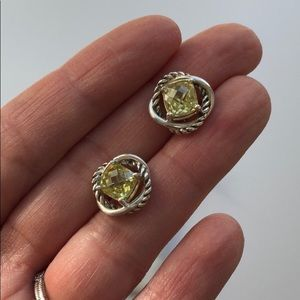 David Yurman Infinity Earrings - Lemon Citrine